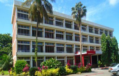 L'actuel immeuble abritant le cabinet du Ministre de la Justice.
