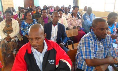 Causerie morale à l'intention de tout le personnel des juridictions de Gitega